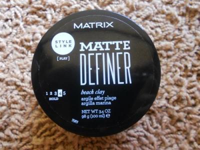 Pasta Modelatoare Matrix StyleLink Matte Definer, 100ml