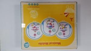 Carusel pentru copii musical mobile -jucarii din plus5