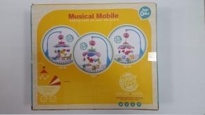 Carusel pentru copii musical mobile -jucarii din plus7