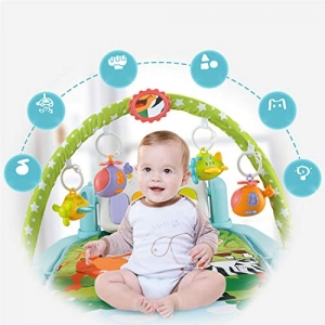 Saltea activitatii Baby Piano Gym cu telecomanda6