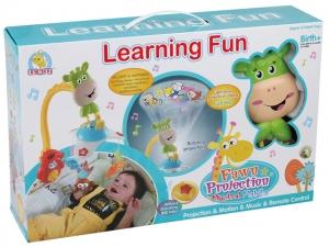 Carusel pentru copii learning fun Girafa1