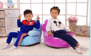 Fotoliu din plus copii Princess sit down2