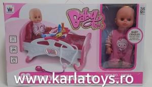 Patut cu bebelus si accesorii1