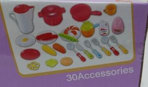 Bucatarie de jucarie copii Cook Fun 30 piese4
