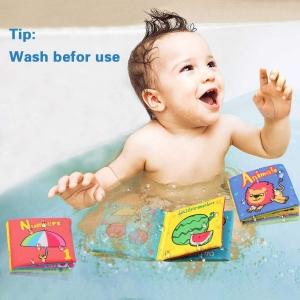 Set 6 carti bebelusi senzoriale - Prima mea carte material textil Top Bright1