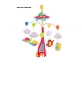 Carusel pentru copii cu avioane si elicoptere Dream world0