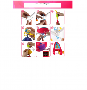 Carusel pentru copii cu avioane si elicoptere Dream world6
