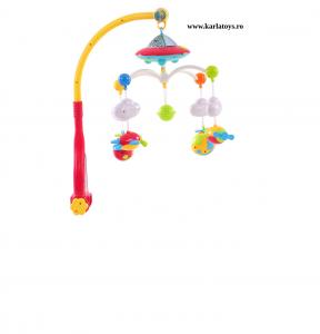 Carusel pentru copii cu avioane si elicoptere Dream world2