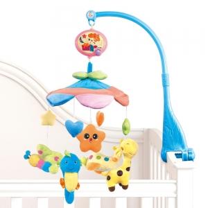 Carusel pentru copii musical mobile -jucarii din plus0