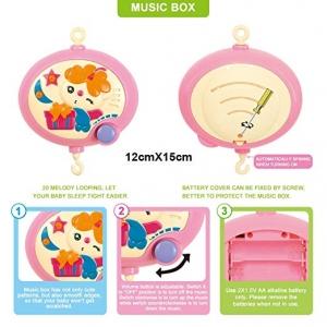 Carusel pentru copii musical mobile -jucarii din plus4