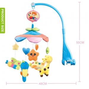 Carusel pentru copii musical mobile -jucarii din plus3