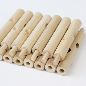 Jucarie de lemn puzzle montessori Copacul cu frunze 3D2