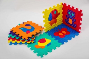 Set puzzel 10 piese cu animale 31/31 cm0