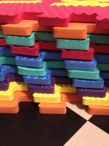 Set puzzel 10 piese cu animale 31/31 cm1