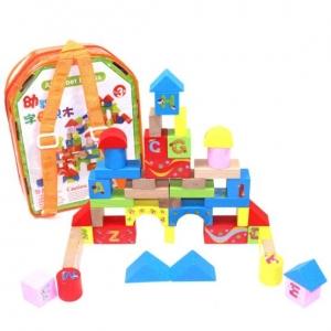 Set cuburi din lemn cu ghiozdan0