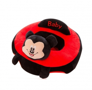 Fotoliu bebe Sit up  din plus Mickey Mouse  Minnie Mouse Mare0
