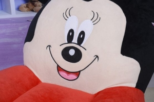 Fotoliu din plus Minnie Mouse /Mickey MouseMare sit down1