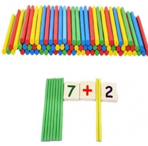 Set educational din lemn matematica5