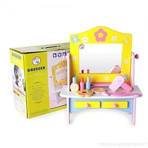Masuta de toaleta  din lemn  cu accesorii  Dresser0