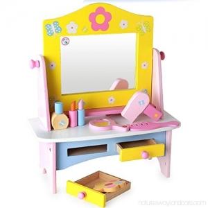 Masuta de toaleta  din lemn  cu accesorii  Dresser5