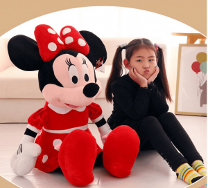 Jucarie din pus Minnie Mouse mare 1m1