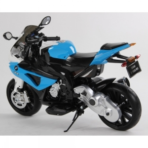 Motocicleta Bmw 12 v cu roti ajutatoare pentru copii4