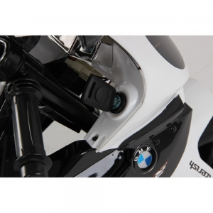 Motocicleta Bmw 12 v cu roti ajutatoare pentru copii8