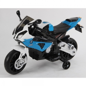 Motocicleta Bmw 12 v cu roti ajutatoare pentru copii2