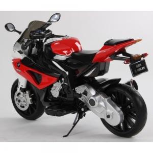 Motocicleta Bmw 12 v cu roti ajutatoare pentru copii3