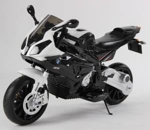 Motocicleta Bmw 12 v cu roti ajutatoare pentru copii0