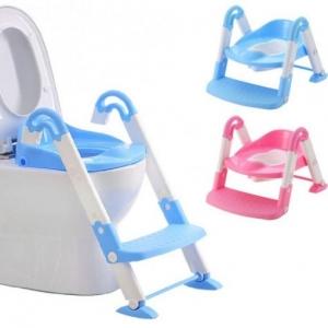 Scaun cu scarita toaleta pentru copii 3 in 11
