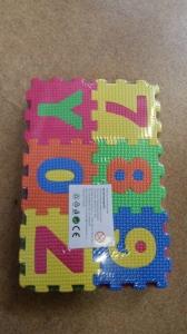 Set de puzzel cifre si litere 36 de buc0