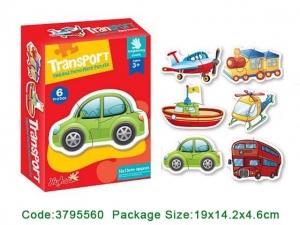 Puzzle bebe animale din doua si patru piese   4 seturi2