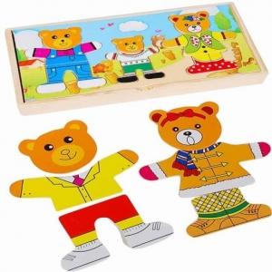 Puzzle lemn 3 ursuleti2