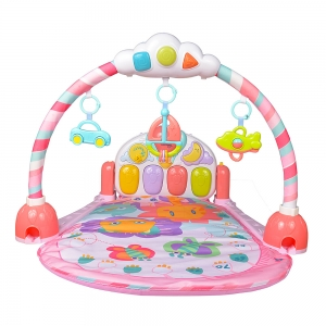 Saltea de joaca bebe cu pian Garden1