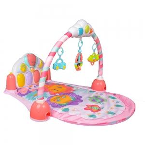 Saltea de joaca bebe cu pian Garden2