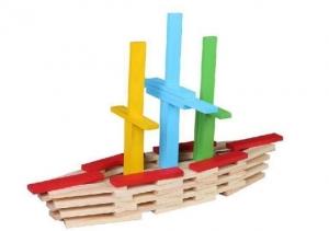 Set 150 de cuburi din lemn de constructie1