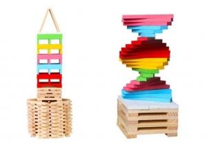 Set 150 de cuburi din lemn de constructie2