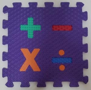 Set puzzel 10 piese cifre si litere  mari 31/31 cm7