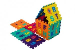 Set puzzel 10 piese cifre si litere  mari 31/31 cm11