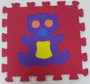 Set puzzel 10 piese cu animale 31/31 cm4