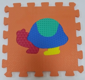 Set puzzel 10 piese cu animale 31/31 cm3