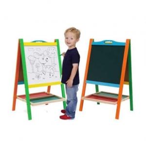 Tabla educativa copii 2 in 1 cu suport0