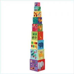 Turn Montessori 10 cuburi Natura0