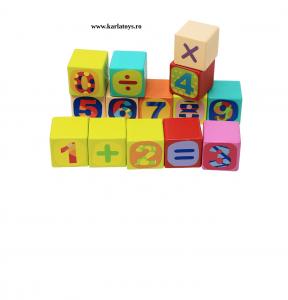 Cuburi din lemn Litere 121 piese Neowows3