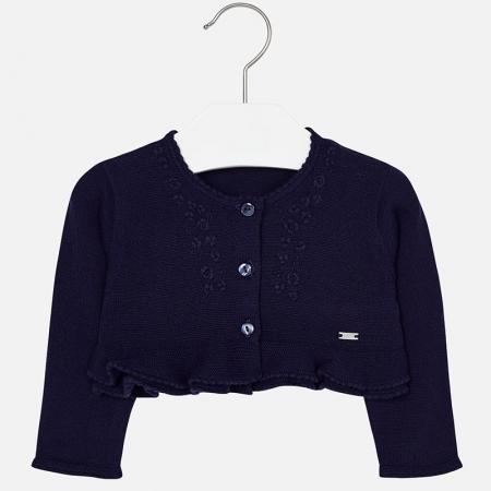 Bolero tricot fete Mayoral, navy