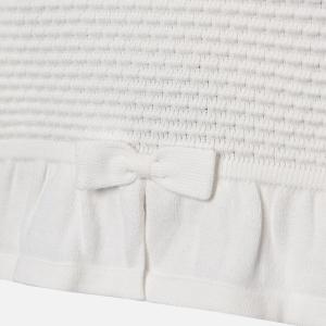 Bolero tricotat fete Mayoral ivoire