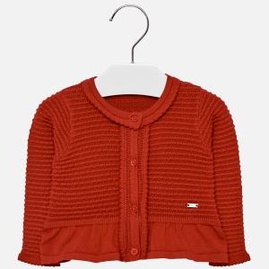 Bolero tricotat fete Mayoral rosu