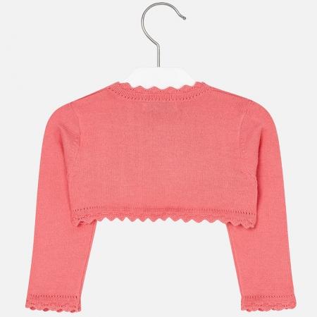 Bolero tricotat feteMayoral, coral1