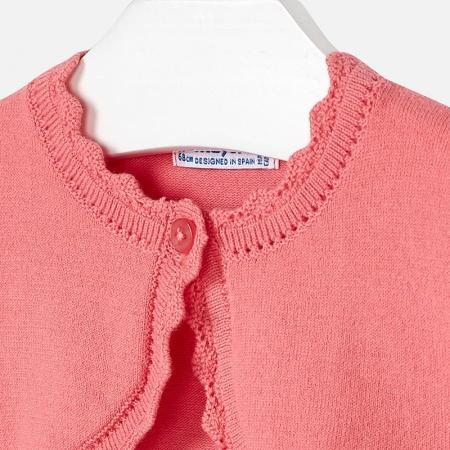 Bolero tricotat feteMayoral, coral